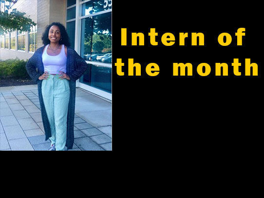 Intern of the month
